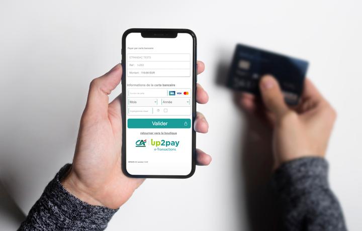 Module Up2pay e-Transactions dans smartphone